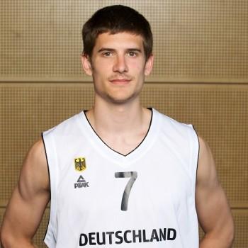 Basketball Kleinmachnow 06.06.2014U20 Herren LŠnderspielDeutschland (GER) - Tschechische Republik (CZE)Helge Baues (Deutschland, No.07)Foto: Camera4