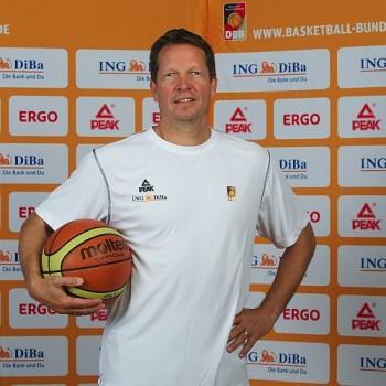 Bundestrainer Frank Menz. Foto: DBB/Camera 4